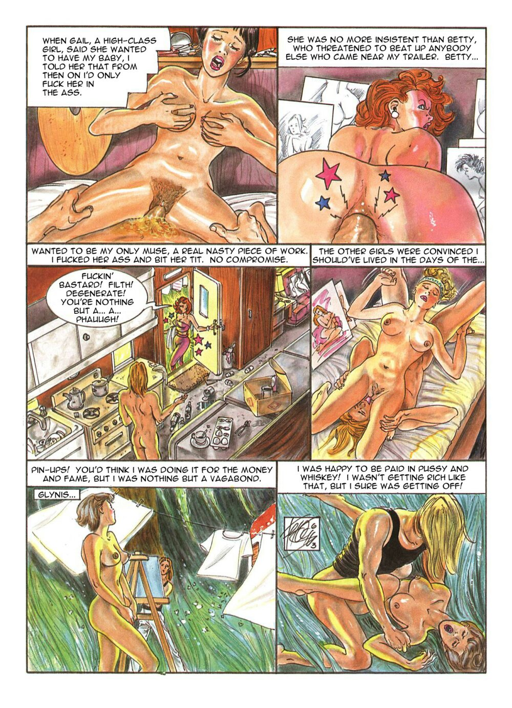 free cartoon porn comics