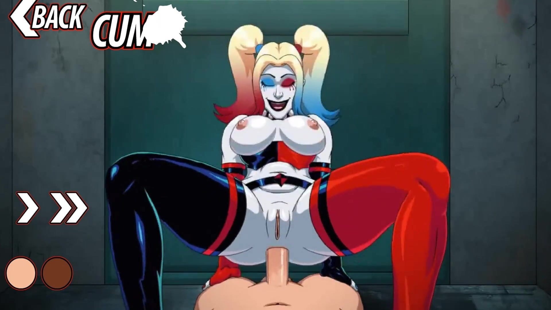 harley quinn cartoon porn