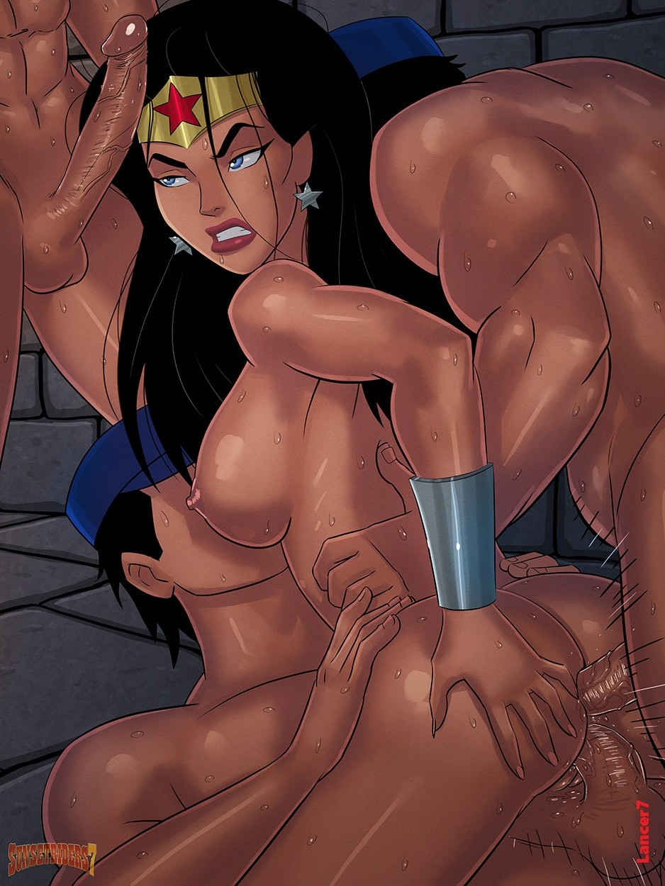 wonder woman cartoon porn